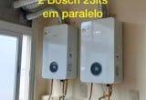 2 Bosch 23lts em paralelo