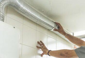 Instalação de aquecedores de água a gás